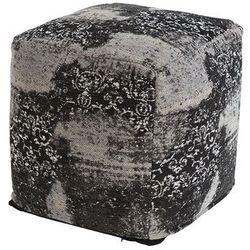 Qazqa Vintage kwadratowy puf szary 45 x 45 x 45cm - puri