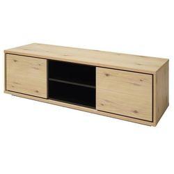 Interstil Stolik pod telewizor detroit, 45x150 cm, mdf, dębowy, 40042-1