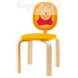 Drewniane krzesełko, Kubuś Puchatek