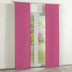 Dekoria zasłony panelowe 2 szt., różowy, 60 × 260 cm, loneta