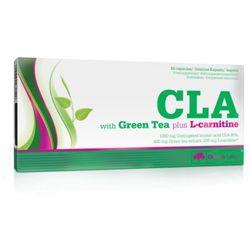 Olimp CLA z Zieloną Herbatą + L-karnityna 60 kaps. (redukcja tłuszczu)