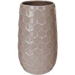 Ceramiczny wazon na kwiaty, dekoracje - wysoki, 21 x Ø 12 cm (8719202117455)