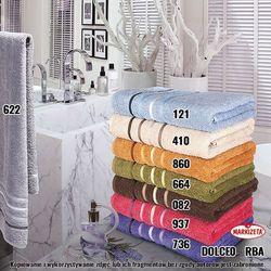 Ręcznik dolce kolor karmelowy dolce0/rba/860/070140/1 marki Markizeta