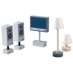 Mali Przyjaciele Zestaw TV z lampami