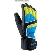 Męskie rękawice narciarskie  biset czarno-niebieski 9 marki Viking