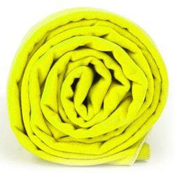 Dr.Bacty M szybkoschnący ręcznik treningowy - Neon Żółty