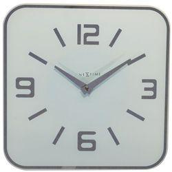 Zegar ścienny shoko biały marki Nextime