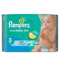 Pampers  active baby pieluchy 3 midi 42szt pieluszki | darmowa dostawa od 150 zł! (4015400537427)