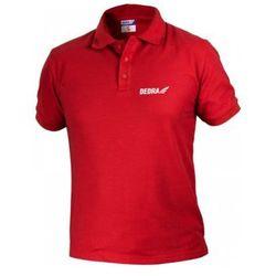 Koszulka polo DEDRA BH5PC-S Czerwony (rozmiar S) (5902628211606)