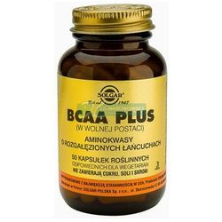 SOLGAR BCAA Plus Aminokwasy rozg. łańcuchy - oferta [05d5217057615252]