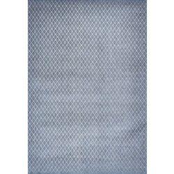Niebiesko szary dywan nowoczesny Rombo Blu Grigio