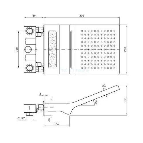 Zucchetti element podtynkowy R99798 - sprawdź w wybranym sklepie