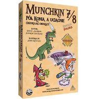 Munchkin 7/8 - Pół Konia, a Uciągnie Oszukując Oburącz - sprawdź w wybranym sklepie