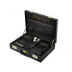 AMBITION AMBITION Komplet sztućców Prato 72-elementowy w walizce 83844