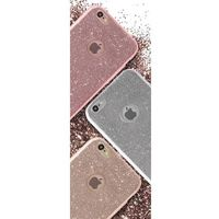 PURO Glitter Shine Cover - Etui iPhone 6s Plus / iPhone 6 Plus (Silver), IPC655SHINESIL