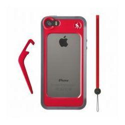 KLYP Ochraniacz na iPhone® 5 czerwony - produkt z kategorii- Pozostała fotografia i optyka