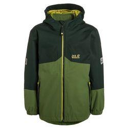 Jack Wolfskin ICELAND 3IN1 Kurtka hardshell dark pine z kategorii kurtki dla dzieci