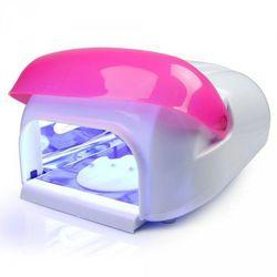 Lampa uv 36 watt - infinite lighting (hl-705) - biało-różowa, marki Vanity