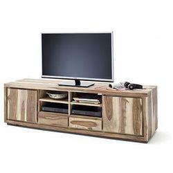 Szafka RTV duża z litego drewna palisander MAIN 175/45/50 cm