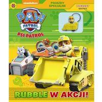 Psi Patrol Pojazdy specjalne 8 Rubble w akcji! + spychacz - Praca zbiorowa (9788379944217)