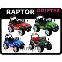 Auto na akumulator jeep raptor drifter + tablice marki Tima