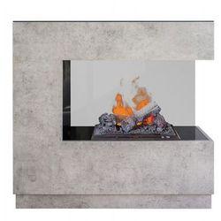 """Zestaw kominek + obudowa zen 3d beton -dodatkowy """"efekt dymu"""" najniższa cena w polsce + dodatkowy rabat + gratis marki Dimplex - najlepsze ceny"""