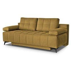 """Trendstyle Sofa """"orlando"""" rozkładana - musztardowy"""