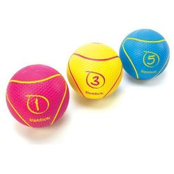Piłka medyczna Reebok 1 kg, kolor magentowy - produkt dostępny w T-Fitness