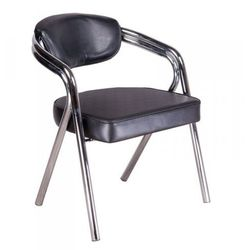 Krzesło Do Poczekalni BR-4511 Czarne - produkt z kategorii- Pozostałe fryzjerstwo i kosmetyka