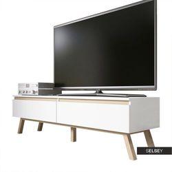 SELSEY Szafka RTV Thorita z dwiema szufladami (5902622522333)