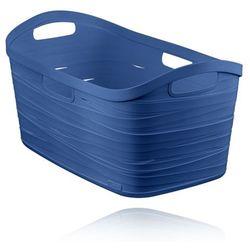 kosz do magla ribbon 40l - niebieski od producenta Curver