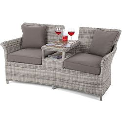 Sofa ogrodowa Milos Light Grey / Taupe (5902425328385)