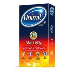 Unimil Variety (1op./12szt.) z kategorii Prezerwatywy