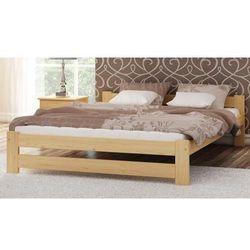 Łóżko drewniane Inter 120x200 EKO z materacem piankowym Megana