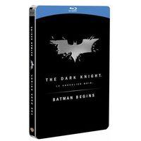 Batman Początek, Mroczny Rycerz. (STEELBOOK 3BD) Pakiet Kolekcjonerski