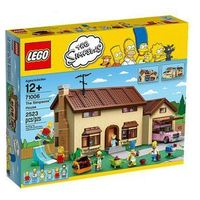 LEGO The Simpsons HouseT ime Lapse Build (5702015115810)