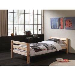 Łóżko drewniane dla dziecka pojedyncze Pino - sosna naturalna