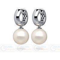 Florenzo castello Fc kolczyki wiszące z perłą 3061221006 pm 12 kolor biały
