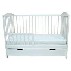 Łóżeczko niemowlęce 120x60 tapczanik - szuflada+ gryzak rabat dla każdego marki Wujec