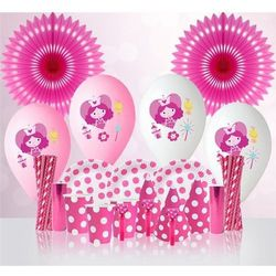 Różowy zestaw urodzinowy dla dziewczynki - 1 kpl, kup u jednego z partnerów