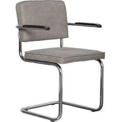 Zuiver Krzesło RIDGE BRUSHED VINTAGE zielone 1100112