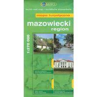 Region mazowiecki. Mapa turystyczna w skali 1:270 000 (opr. broszurowa)