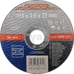 Sthor Tarcza do cięcia metalu 115 x 3,0 x 22 mm / 08174 /  - zyskaj rabat 30 zł (5906083081743)