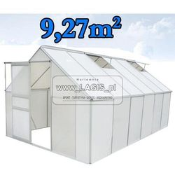 SZKLARNIA OGRODOWA - aluminiowa 9,27m2