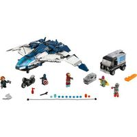 Lego SUPER HEROES The avengers quinjet chase 76032