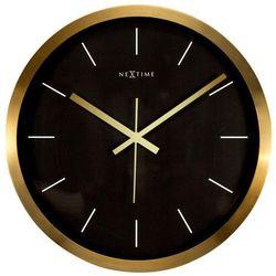 Zegar ścienny Stripe czarny, 2524GB