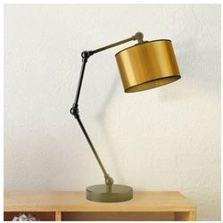 Lampka nocna ze złotym abażurem ASMARA MIRROR