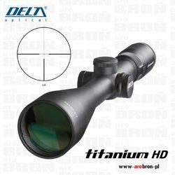 Luneta celownicza myśliwska  titanium 2,5-10x56 hd di 10 lat gwarancji, marki Delta optical