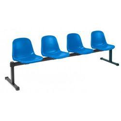 Krzesło BETA-4 - do poczekalni i sal konferencyjnych, konferencyjne, na nogach, stacjonarne, BETA-4