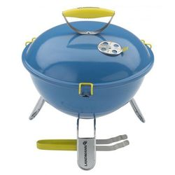 Grill kulisty LANDMANN PICCOLINO niebieski 31381 ze sklepu ErgoExpert.pl